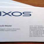 IXOS-Visitenkarte
